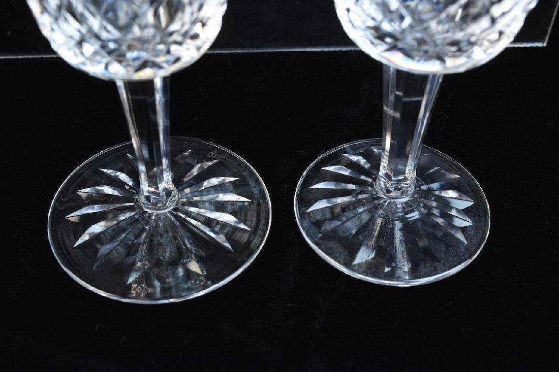 (12) Waterford Lismore Claret Wine Glasses - 3