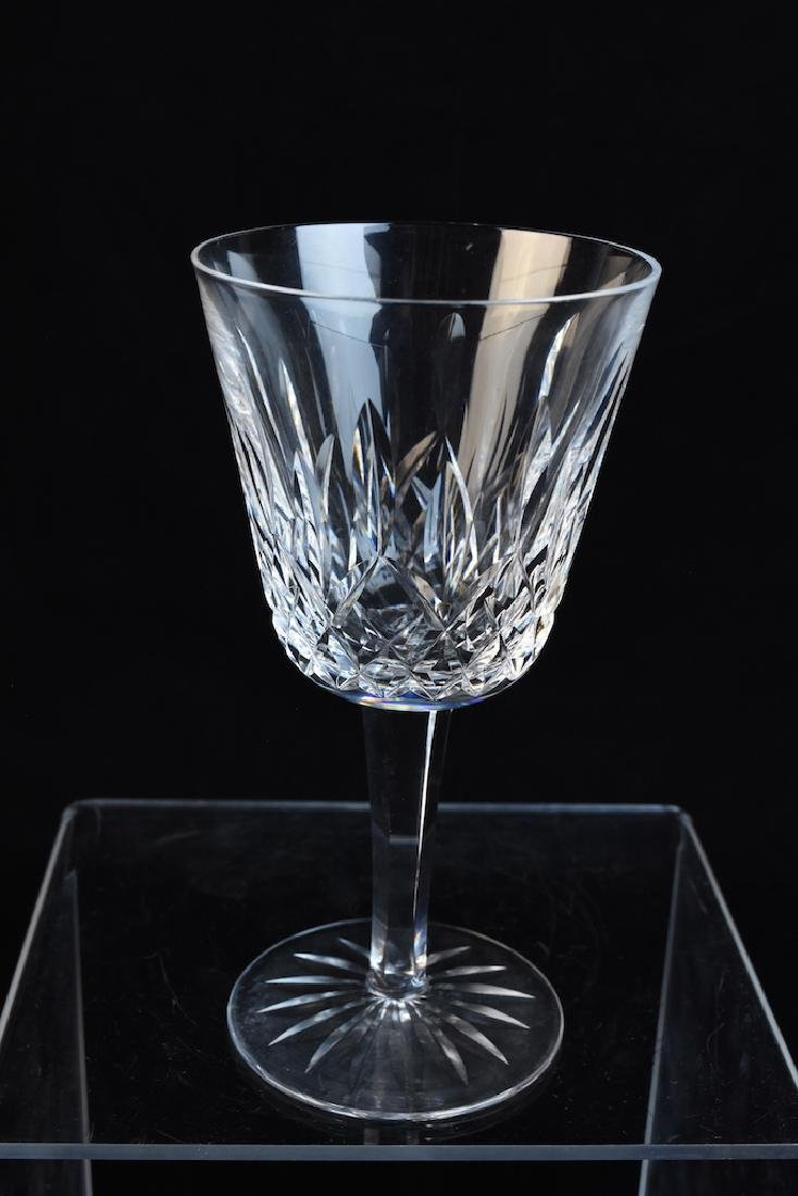 (12) Waterford Lismore Claret Wine Glasses - 4