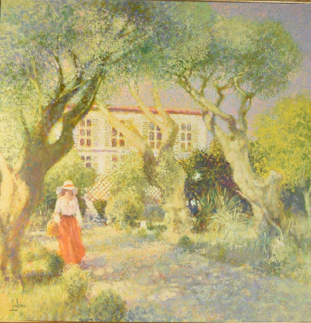 1978 Louis Fabien Oil on Canvas - 2