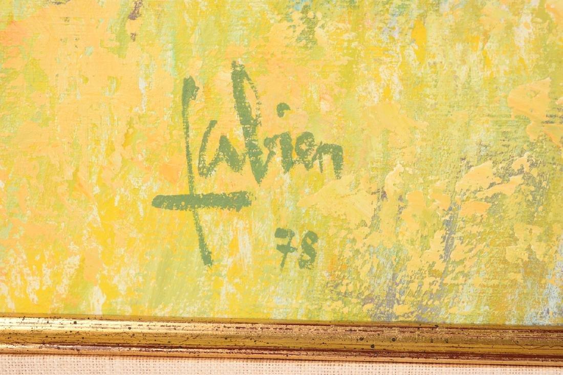 1978 Louis Fabien Oil on Canvas - 3