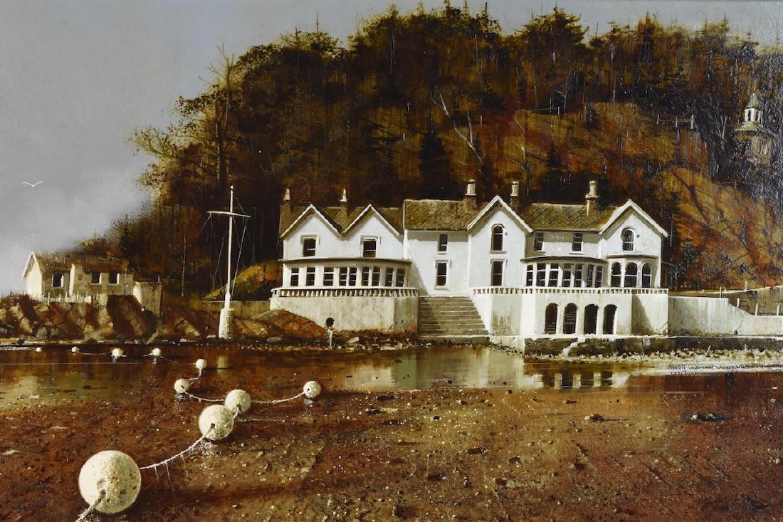 Albert Schroder Painting Blythe Spirit; SLR - 2