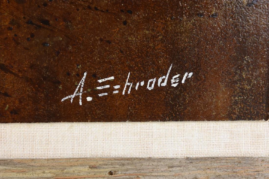 Albert Schroder Painting Blythe Spirit; SLR - 3