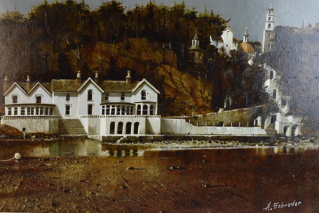 Albert Schroder Painting Blythe Spirit; SLR - 4