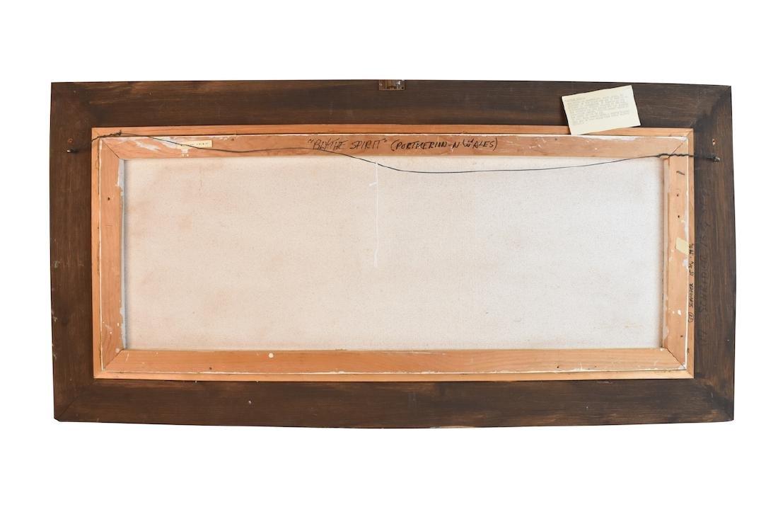 Albert Schroder Painting Blythe Spirit; SLR - 5