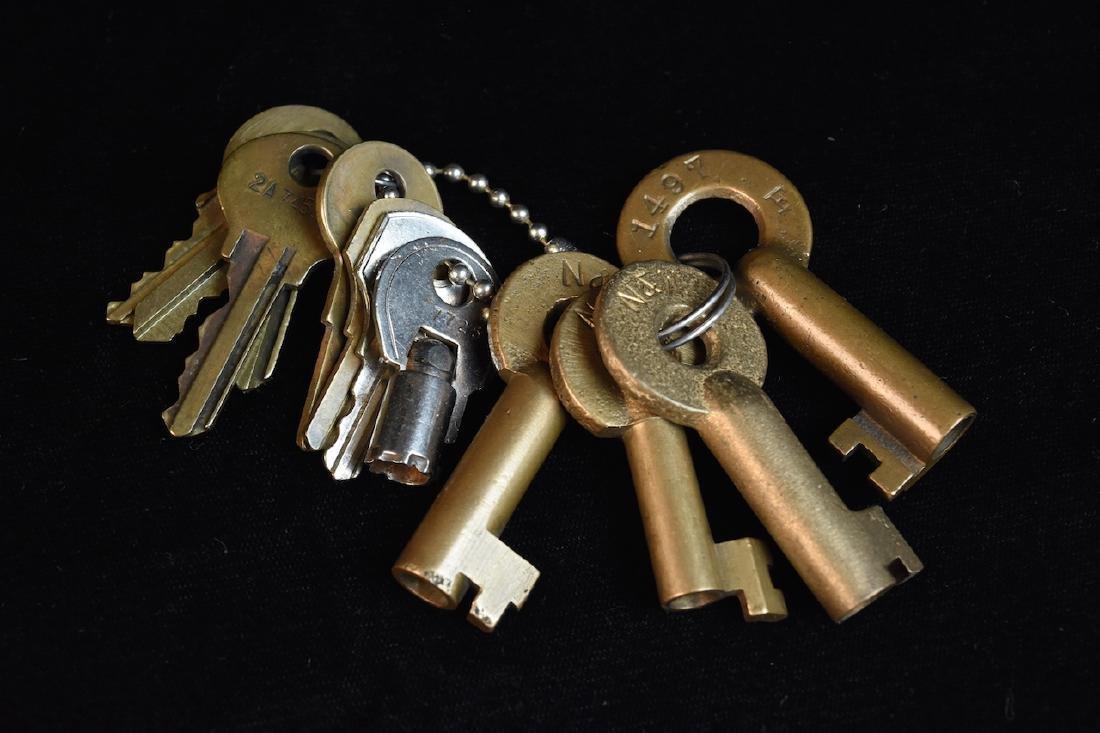 Vintage Padlocks and Keys - 2