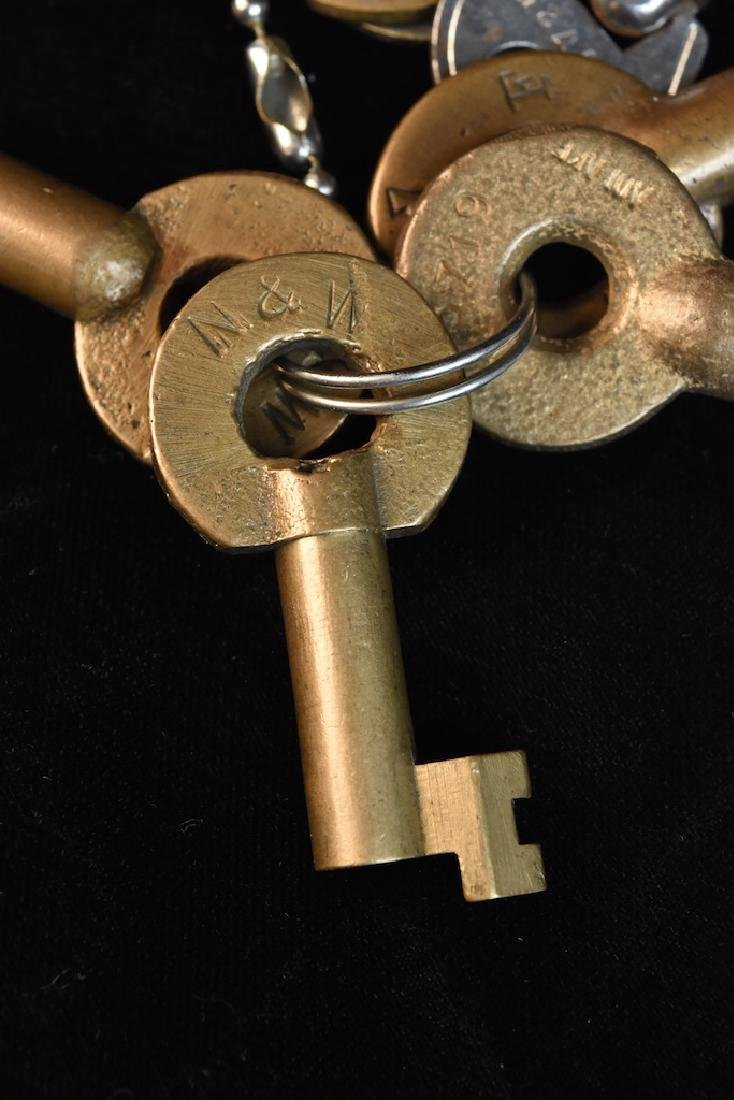 Vintage Padlocks and Keys - 8