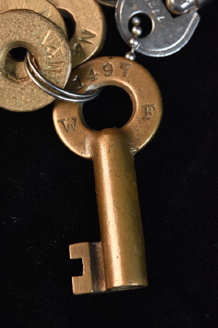 Vintage Padlocks and Keys - 9