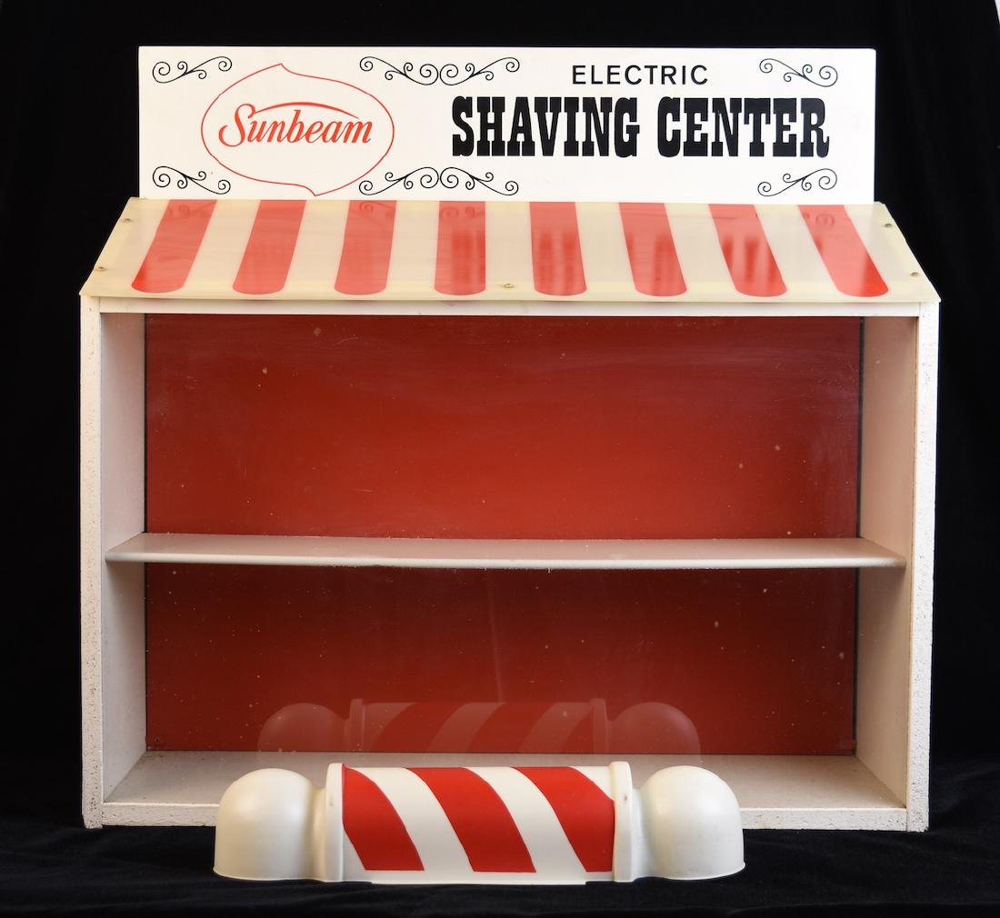 Sunbeam Electric Shaving Center Countertop Display