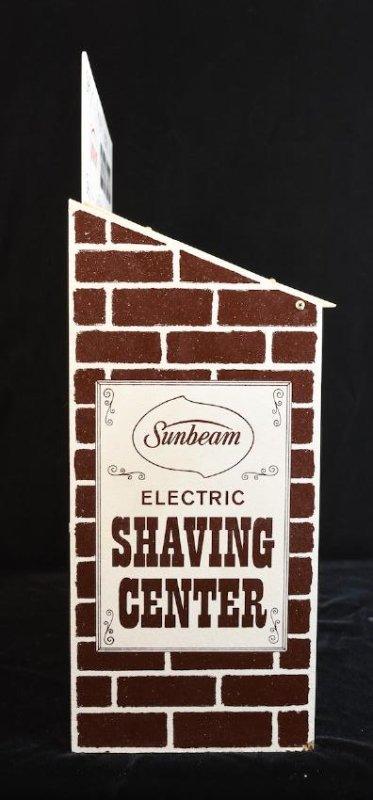 Sunbeam Electric Shaving Center Countertop Display - 3