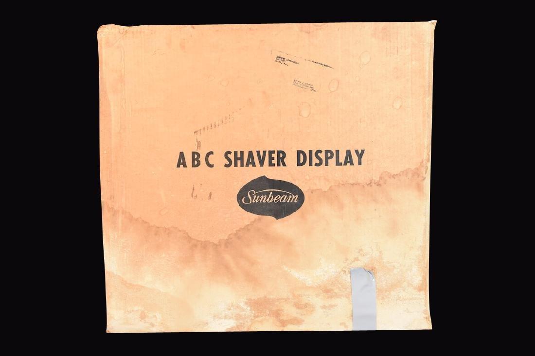 Sunbeam Electric Shaving Center Countertop Display - 8