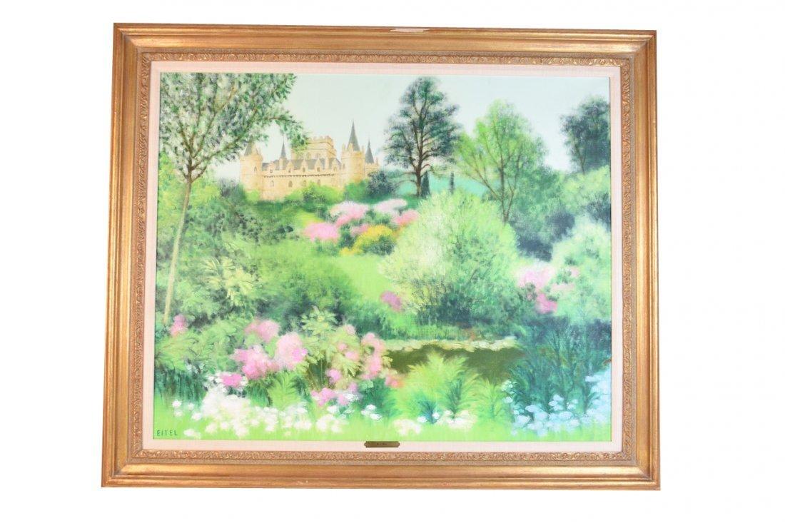 Jacques Eitel Oil On Canvas; Inveraray