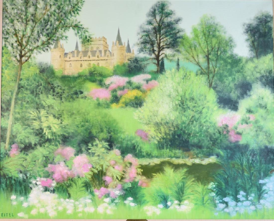 Jacques Eitel Oil On Canvas; Inveraray - 2