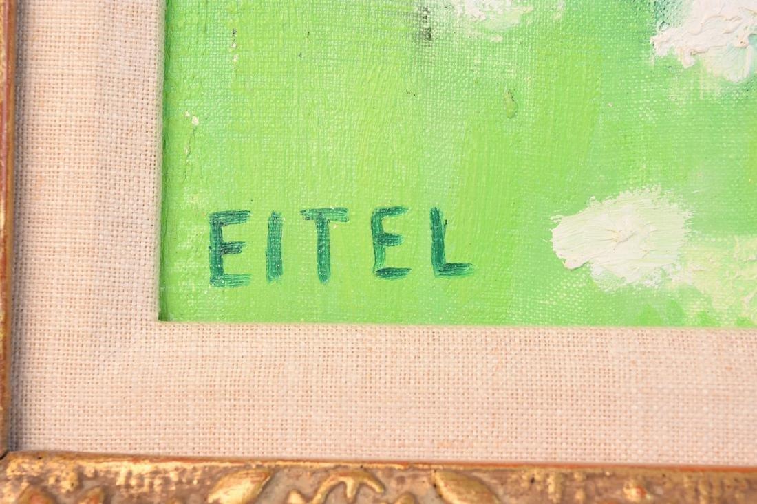 Jacques Eitel Oil On Canvas; Inveraray - 3