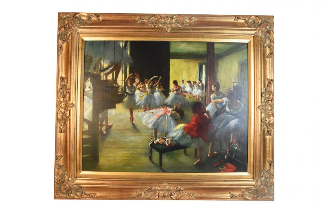 Edgar Degas Museum Quality Re-Creation