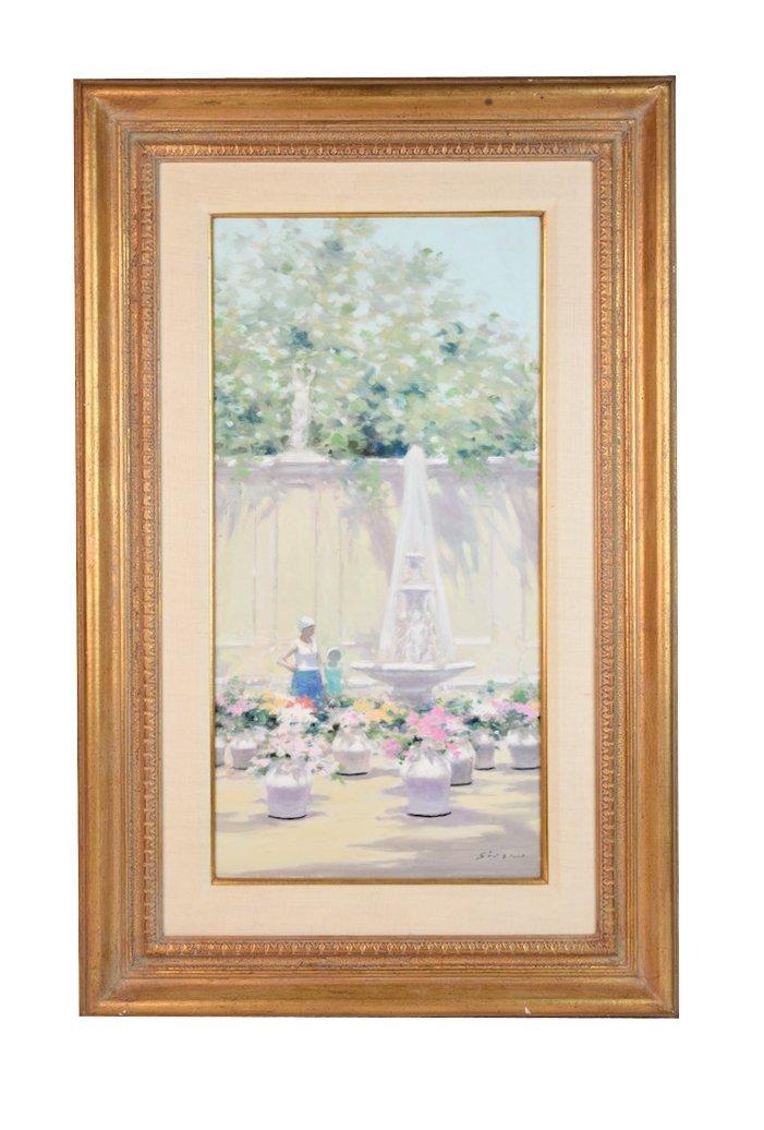 Andre' Gisson Original O/C Impressionist