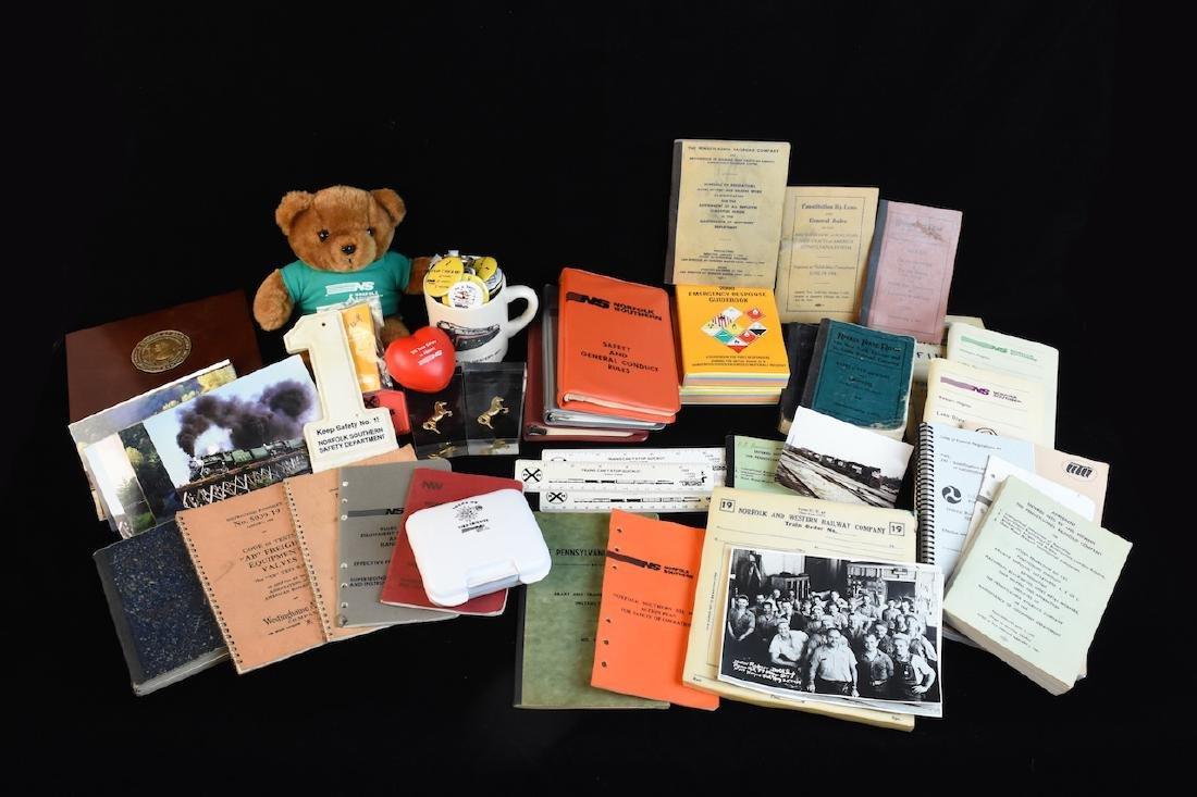 Eclectic Group of Railroad Memorabilia