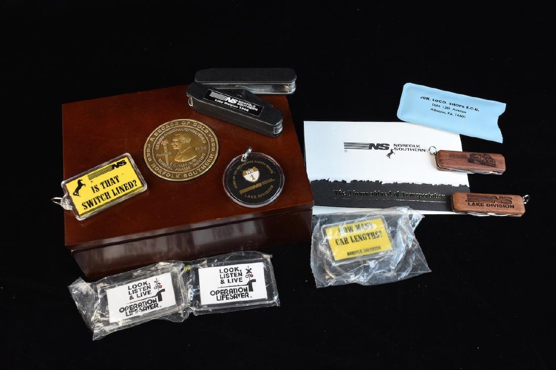 Eclectic Group of Railroad Memorabilia - 6