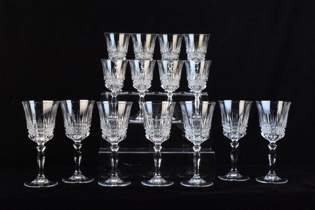 (15) Piece Crystal Stemware Set