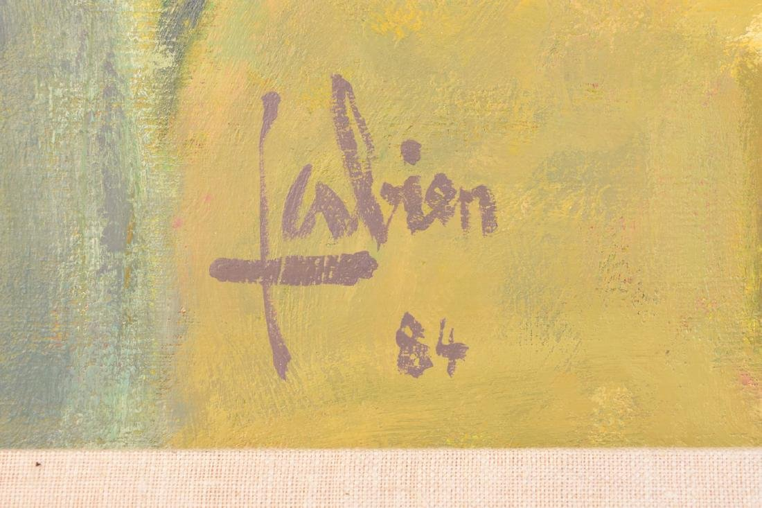 1984 Louis Fabien Impressionist Oil on Canvas - 3