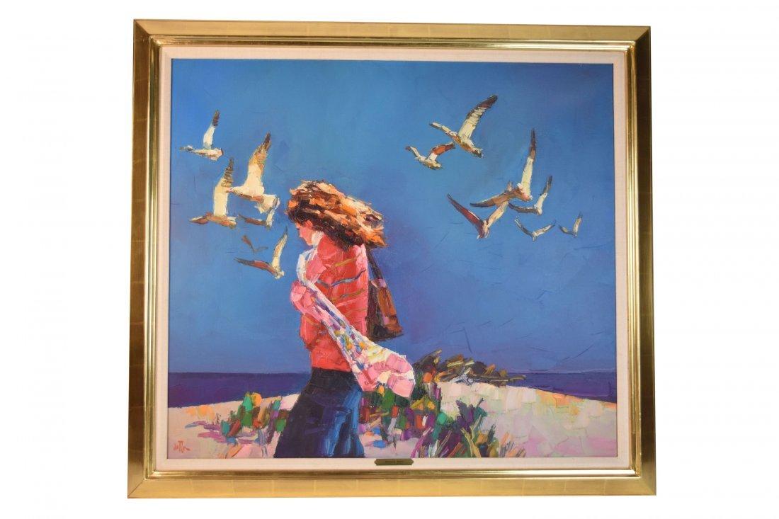 Rodolfo Dotti Original Oil On Canvas