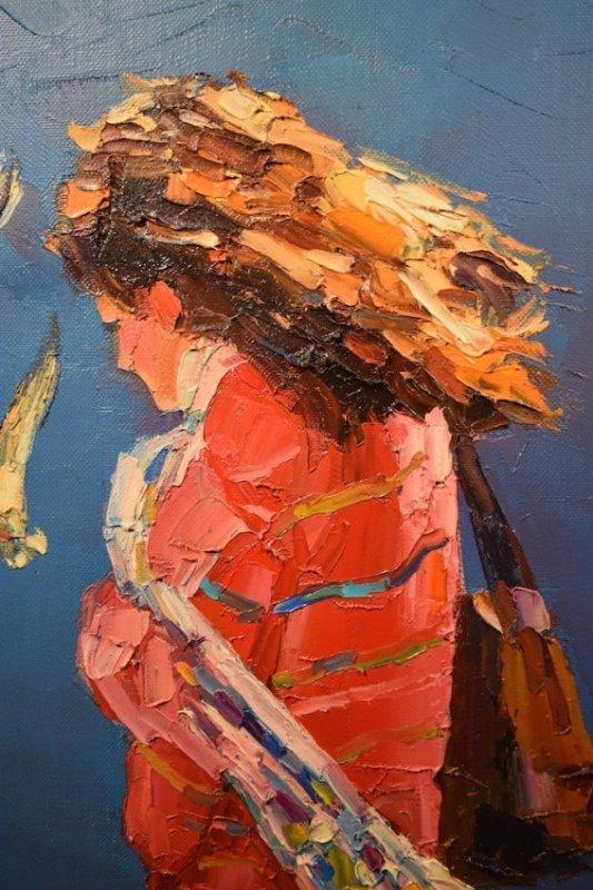 Rodolfo Dotti Original Oil On Canvas - 6