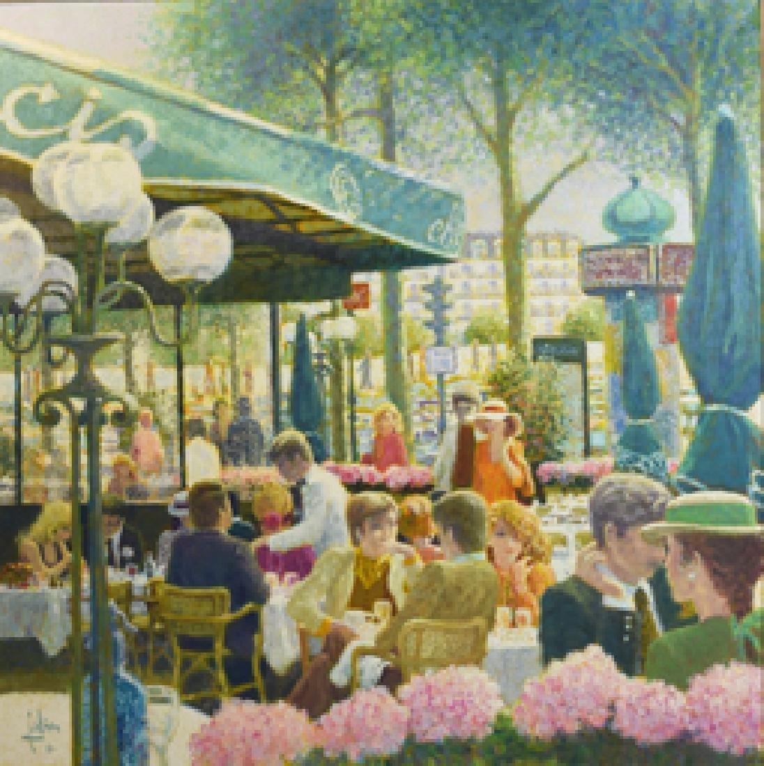 """La Terrasse """"chez Francis"""" by Fabien, 1981 - 2"""