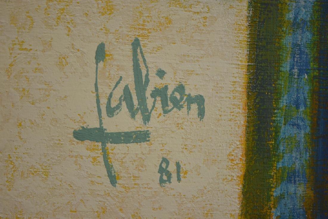 """La Terrasse """"chez Francis"""" by Fabien, 1981 - 3"""
