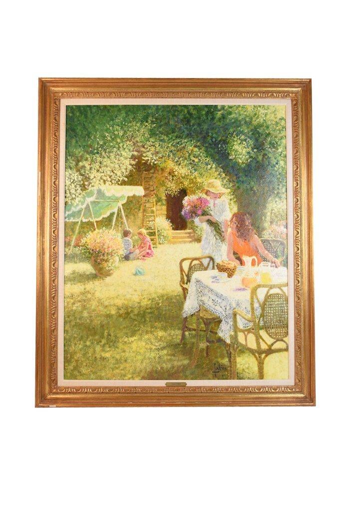 1983 Louis Fabien Oil On Canvas