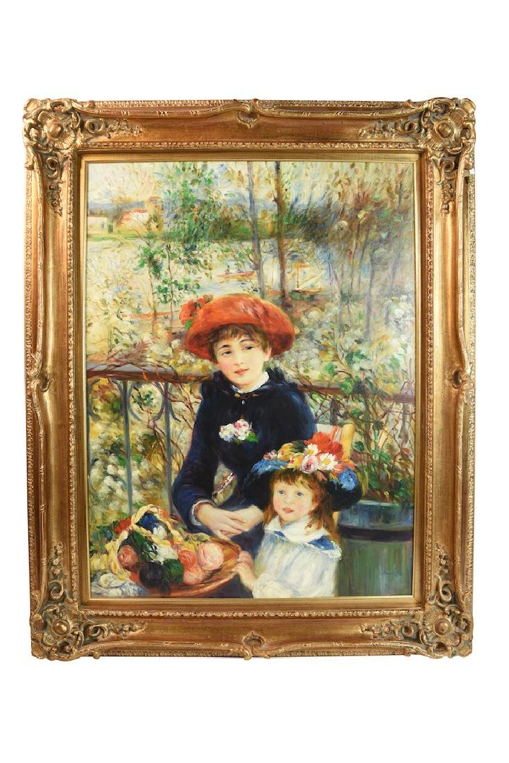 Renoir Museum Quality Re-Creation On The Terrace
