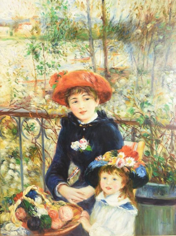 Renoir Museum Quality Re-Creation On The Terrace - 2