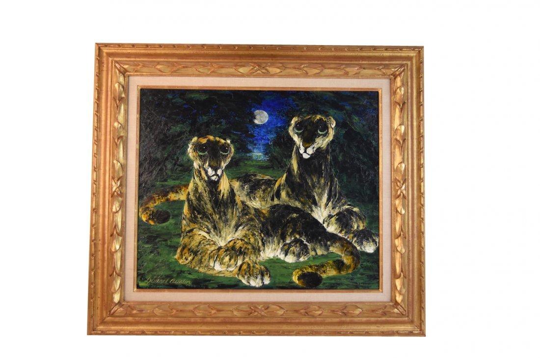 Darrel Austin Original O/C; Watchful Beasts