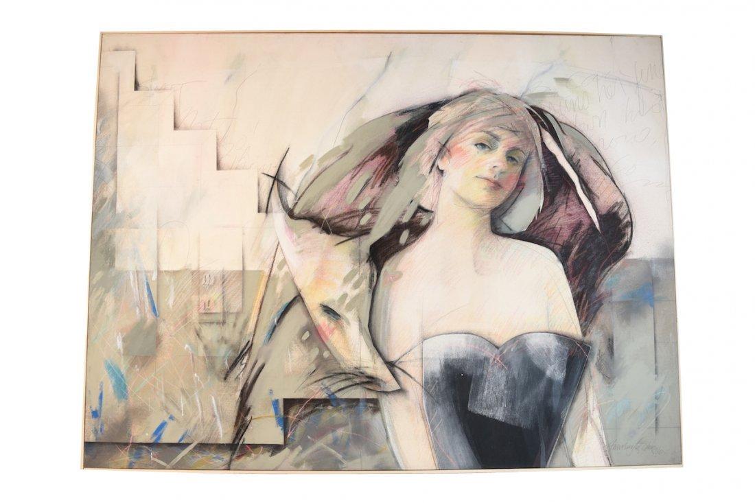 AnnMarie LeBlanc Mixed Medium on Canvas