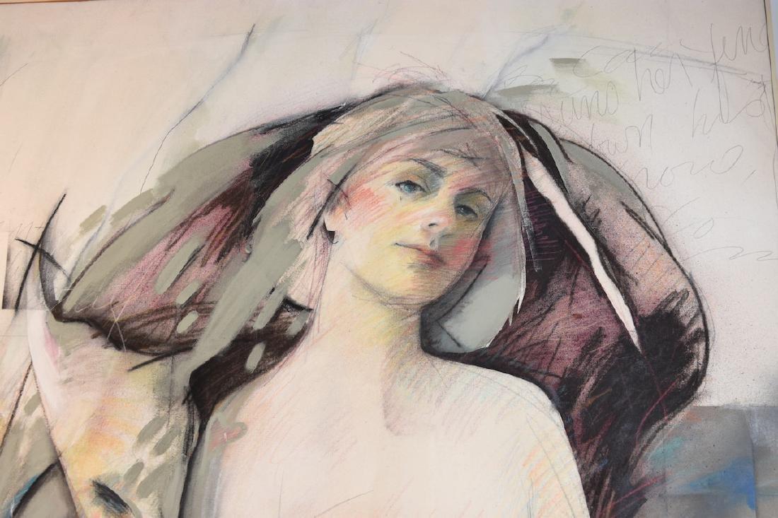 AnnMarie LeBlanc Mixed Medium on Canvas - 4