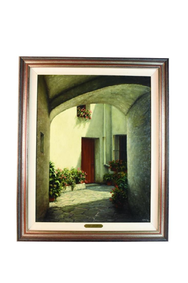 Maximo Cortina Architectural Original O/C