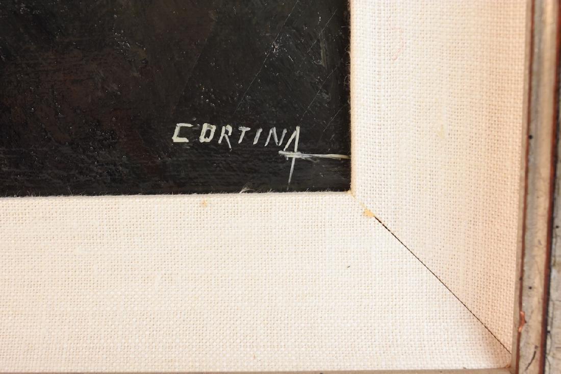 Maximo Cortina Architectural Original O/C - 3