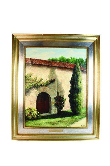 Maximo Cortina Oil on Canvas Original; SLR