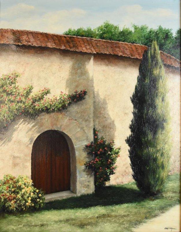 Maximo Cortina Oil on Canvas Original; SLR - 2