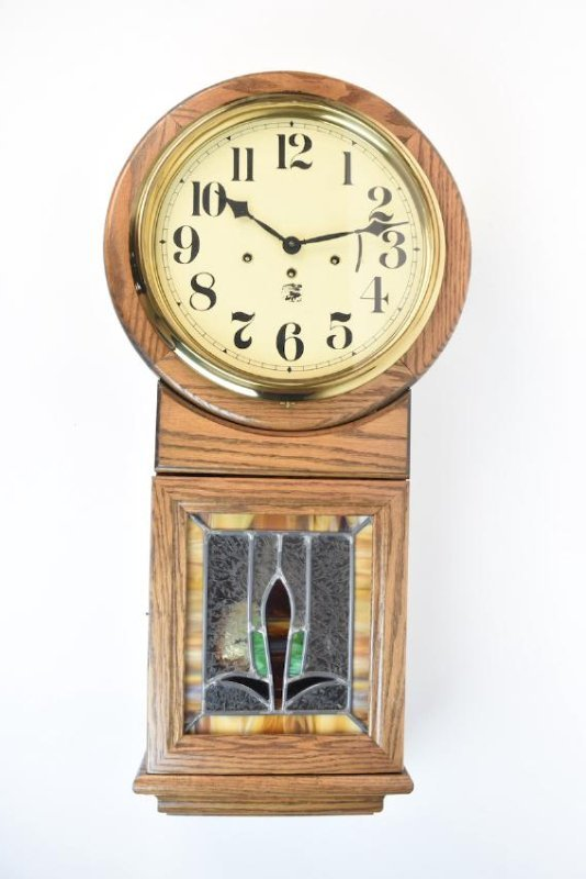Oak Chiming Wall Clock From San Francisco Clock Co