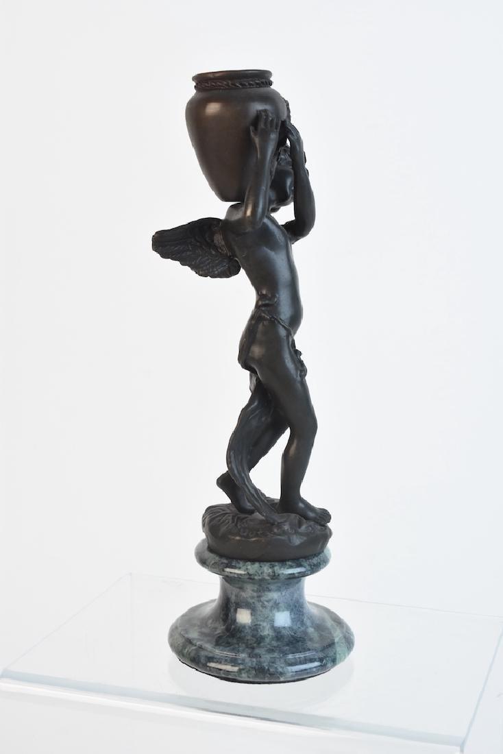 Andrea by Sadek Bronze Cherub Statue - 7
