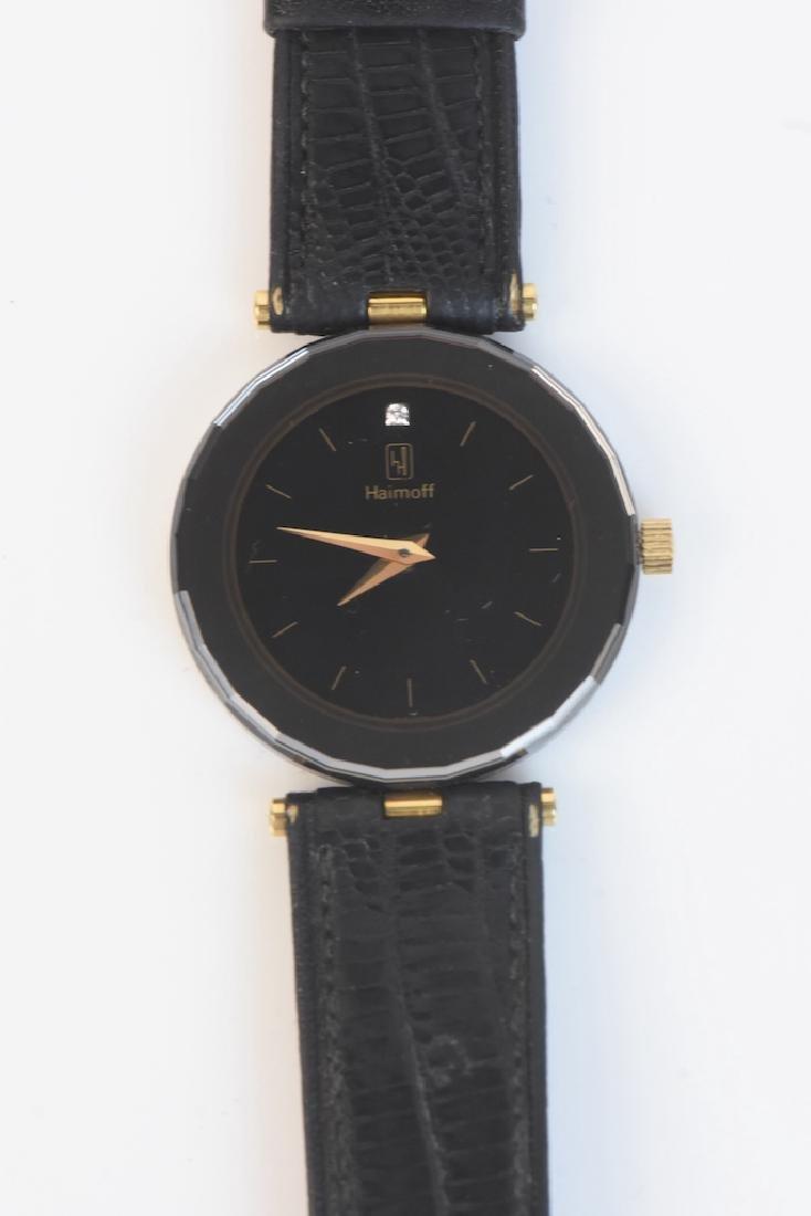 Century Diamond Haimoff Watch 18K Gold Top - 2