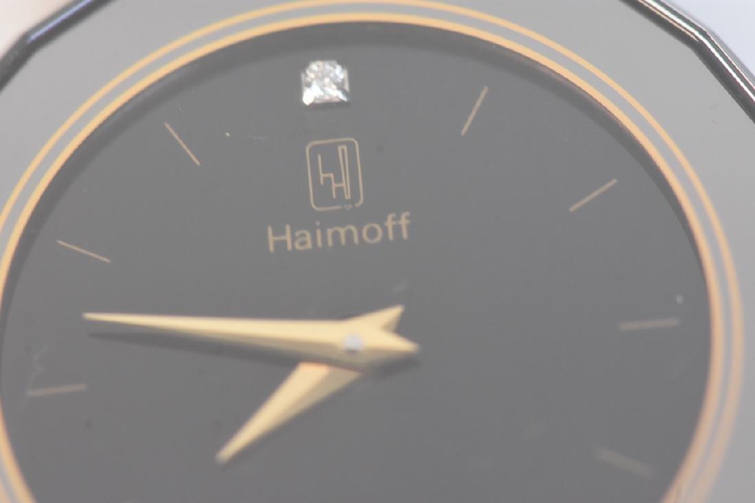 Century Diamond Haimoff Watch 18K Gold Top - 3