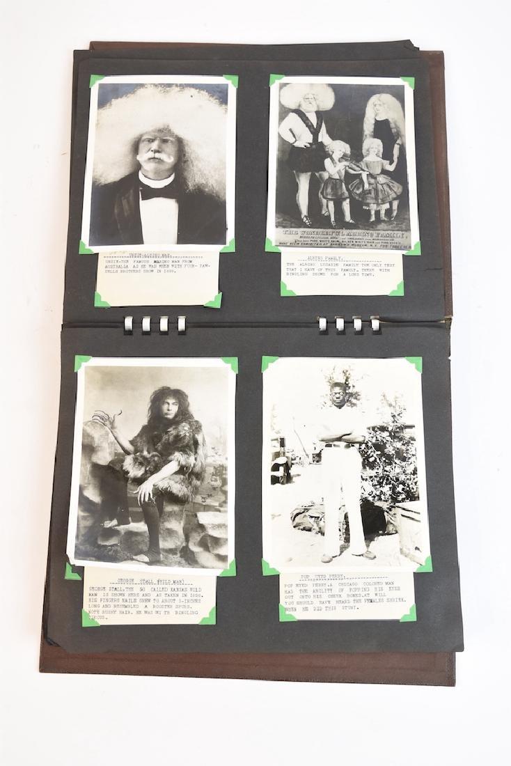 (100+) Vintage B&W Circus Freaks Photos