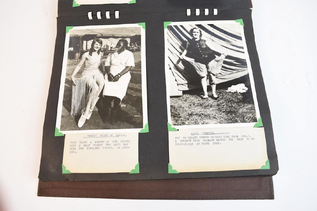 (100+) Vintage B&W Circus Freaks Photos - 3