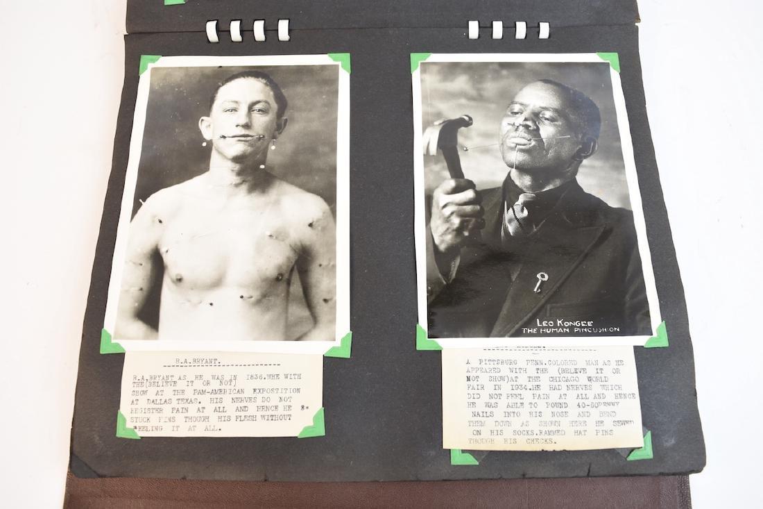 (100+) Vintage B&W Circus Freaks Photos - 4