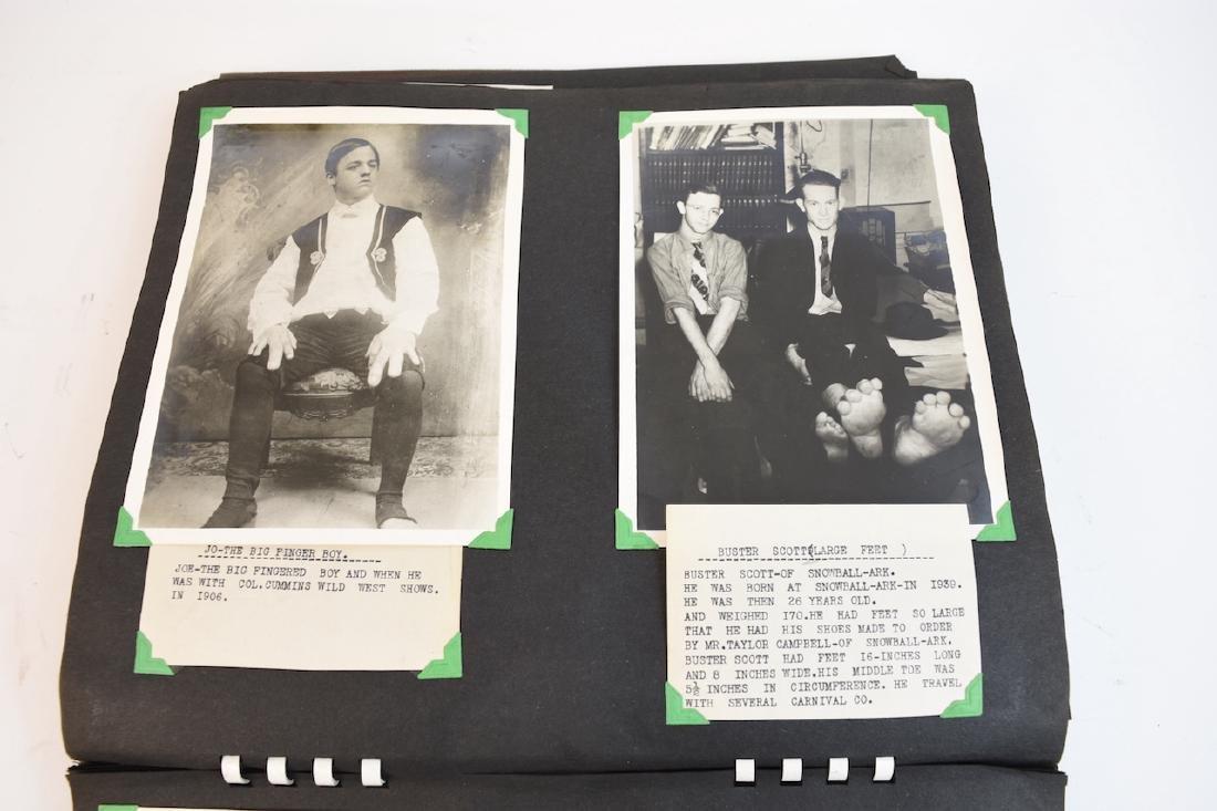 (100+) Vintage B&W Circus Freaks Photos - 6