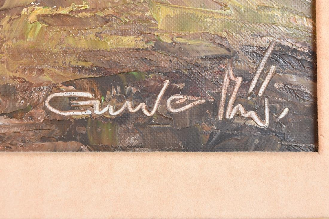 Original Gustav Weiss Oil in Canvas - 3