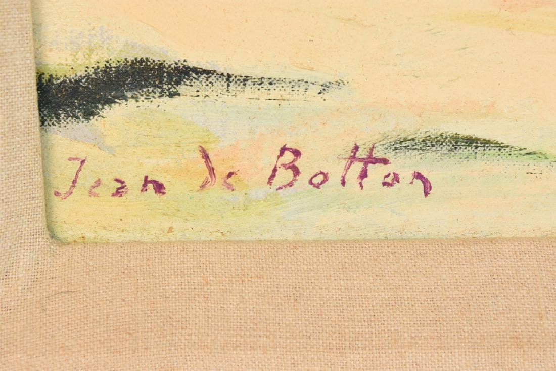 Original Jean de Botton O/C c. 1972; SLR - 3