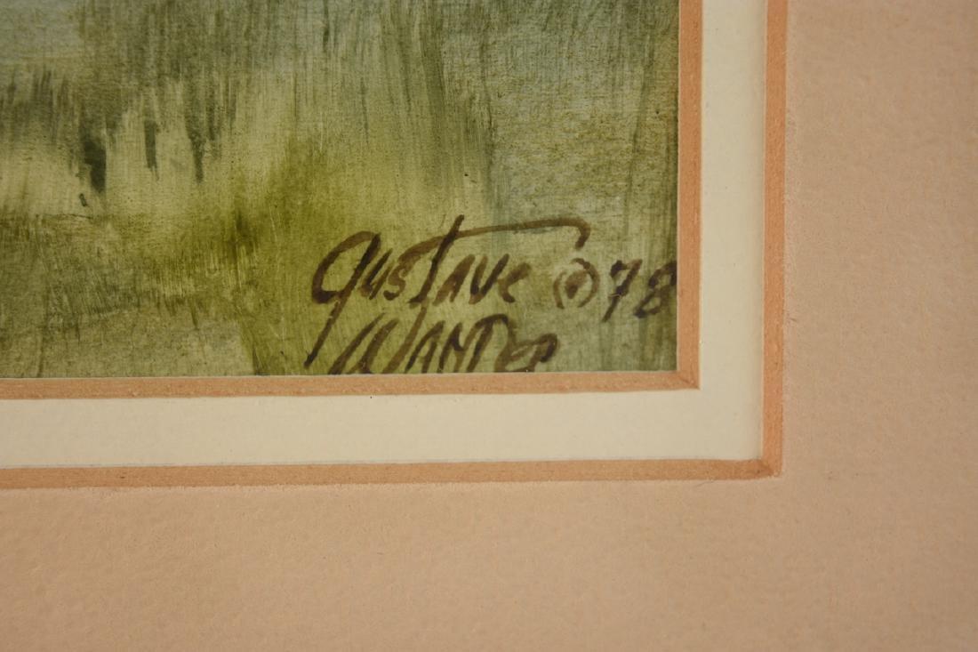 Original Watercolors by Gustave Wander, SLR - 4