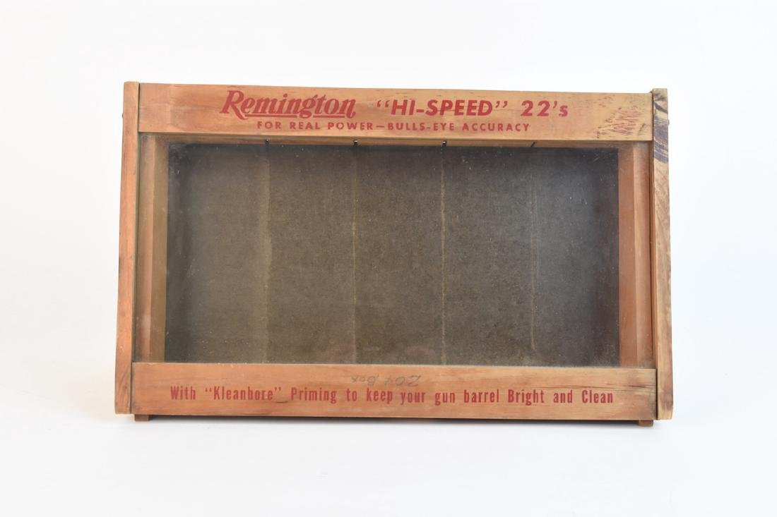Remington Advertising Countertop Display Case