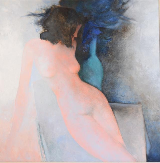 Original Oil On Canvas by Claude Gaveau